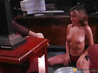 The Hotty Washes The Feet Of His Whore