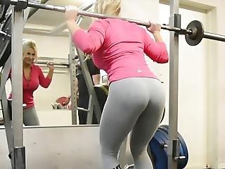 Zadek, Blonďaté, Zadek, Fitness, Sport, mladý Holky