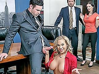 Office Slut Olivia Austin Roughly Fucked By The Boss