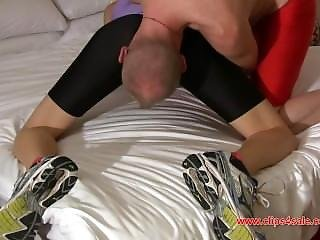 Natasha Spandex Shorts Sex Part 2