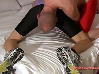 Natasha Spandex Shorts Sex Part 2