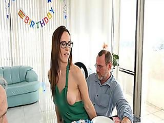 Coffee Attendant Gave Birthday Roger A Lap Dance