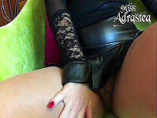 Sale, Domination, Dominatrio, Pieds, Fétiche, Pied, Tâlons, Nylon, Collants, Bas Collants, Esclave