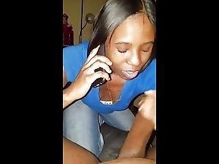 Cheating Boyfriend Sock Dick On Phone Talking