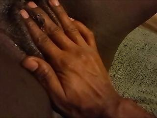 A Handful Of Sweet Black Pussy (watch Her Cum 4 Times)