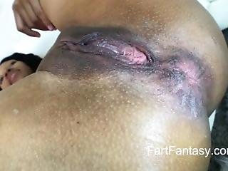 Stinky Unwiped Farting Ass