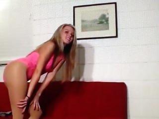 Kelly Again In Pantyhose Ballbusting 4