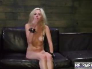 Skinny nude teen hd and seduces on couch