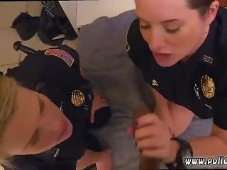 Fake Cop Cheating First Time Black Male Squatting In Home Gets Our Milf