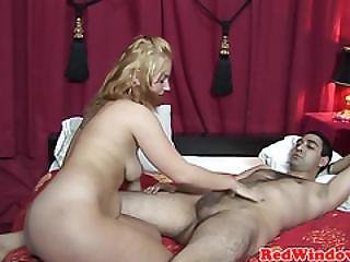 Dutch Hooker Pussyfucked After Blowjob