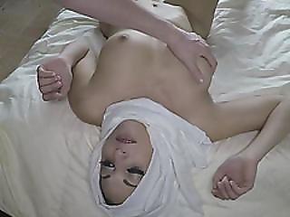 Horny Arab Slut Gets Fucked Hard On Her Bed