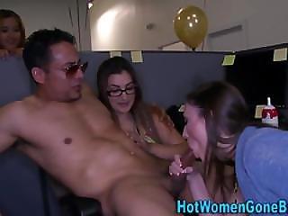 Real Cfnm Hos Sucking Rod