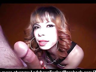 Shy Transsexual Pov Hottie Oral-stimulation