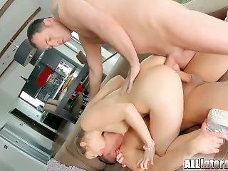 Sexy Girl Gets Tight Holes Drilled By Dicks