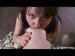 Lesbian Sucking Big Tits 20