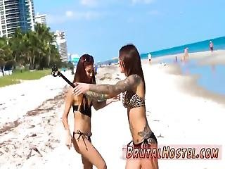 Rough And Bridal Punishment Whipped Ass Excited Youthfull Tourists