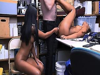 Lala Ivery And Demi Sutra Taking Turns To Fuck By The Lp Officers Thick Cock