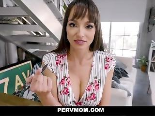stort bryst, brunette, tissemand, fantasi, hardcore, milf, mor, muff, pornostjerne, pov