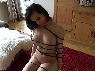 I Got Tied Up And Manhandled By My Sleazy Friend - Marie Mist Anal Creampie