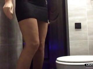 Sex In The Toilet Night Club, Hidden Camera