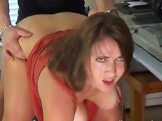 Stepmom Surprise Stepson Alone And Let Him Fuck Her From Behind