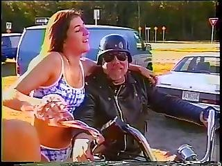 Biker Girls Dare To Show Their Tits In Public