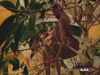Privateblack -short Haired Michelle Face & Butt Fucked 3some