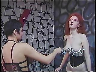 Horny Lesbians Perform Wild BDSM In Dungeon