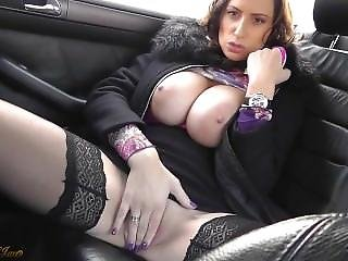 Sensual Jane - Car Sex