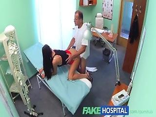 Fakehospital Sexy Sales Lady Makes Doctor Cum Twice As They Strike A Deal