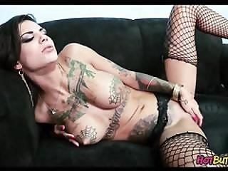 Tattoos And Fishnets
