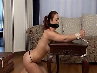 Karlie Montana Tied Up Gagged Naked. Plus Outtakes