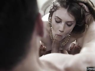 Russian Teen Bride Squirts On Her 1st Night With Her New Man