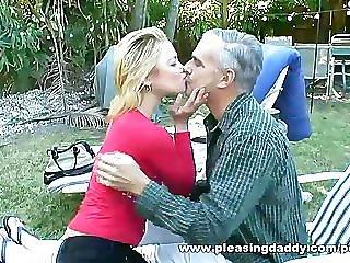 Old Guy Fucks Daughters Best Friend