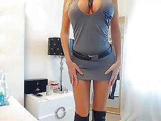 Big Tit Blonde Police Officer
