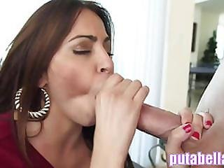 Big Booty Latina Gets Her Juicy Pussy Smashed In Hd Ap13761
