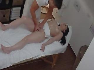 Brunette Teen Experiences Passionate Sex On Massage Table
