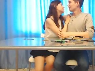 Busty Teen Kelly With Boyfriend Role Playing � Facial