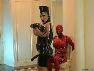 Rubber Mistress And Slave (short)