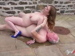 Agedlove Lily May Outdoor Hardcore Sexual Action