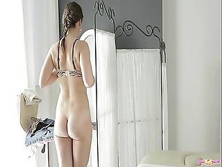Anal, Sædshot, Hot Teenager, Massage, Oiled, Russik, Teen, Teen Anal, Ung