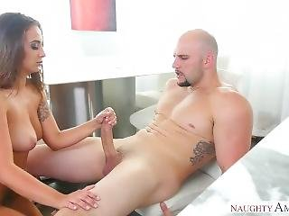 Layla London Rides A Huge Cock