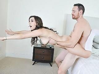 Exxxtrasmall - Petite Stepdaughter Bounces On Her Stepdads Cock