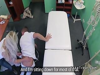 Blonde Massages And Fucks Doctor