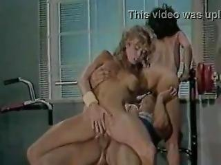 Samurai Retro Sweethearts - Blondie Bee - Swedish Erotica Threesome Workout