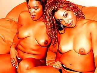 Ebony Plumpers Diddling Like Dykes