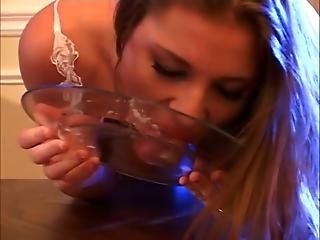 Dementia 5 Aurora Snow Gets Cum Dinner And Then Get Fucked