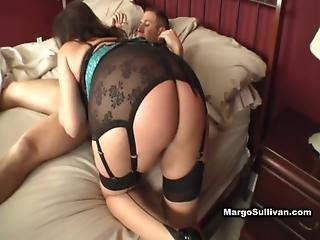 Margo Sullivan - Mom Modeling Corset - Gets Bent Over