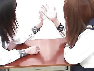 Japanese Lesbian Girls Hand Fetish