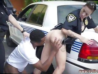 Sexy Police Woman And Lesbian Anal Fisting Threesome And Teen Babe